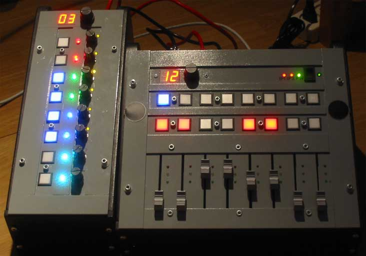 Muzieklab Brabant multi controller interface / Mase