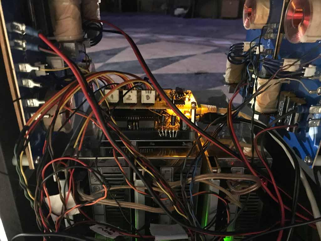 3D loudspeaker steppermotor drive / Robert Pravda