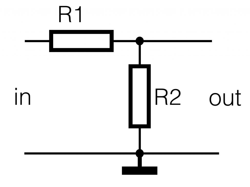 Basics Technology For Art And Education Voltage Divider Diagram In Order To Understand How They Work We Start Again With The As Explained Above