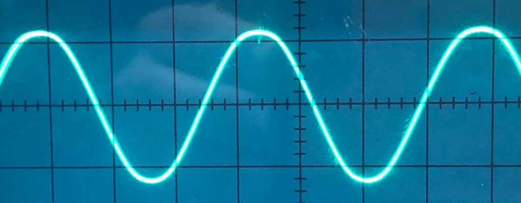 Sine-wave generator – Technology for Art and Education